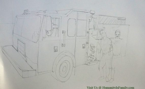 Firemen & Fire Truck Work in Progress
